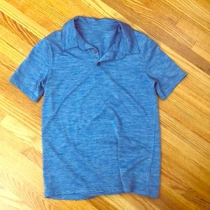 Boys dry fit polo